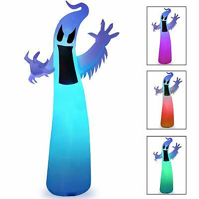 Halloween Inflatable LED Ghost 12 Ft Outdoor Inflatables Decorations Clearance
