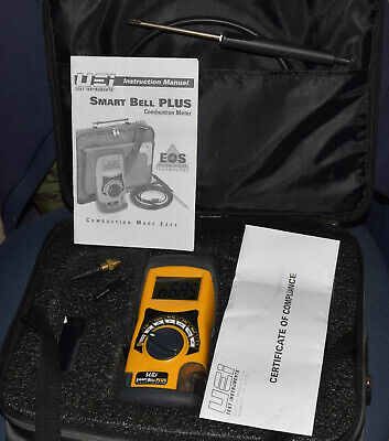 Uei Smart Bell Plus Combustion Meter Analyzer