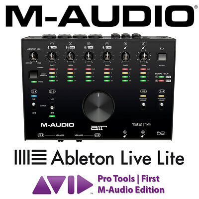 M-Audio AIR 192 | 14 Digital USB 24-bit Audio Interface with Ableton Software