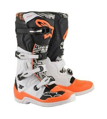 Bottes Moto Cross Alpinestars Tech 5 Noir / Blanc / Orange