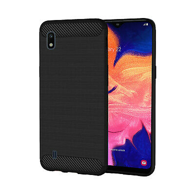 Case For Samsung Galaxy A10 2019 Silicone Gel Skin Various Colours Phone Cover