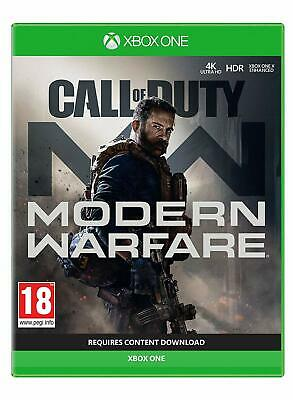 Call of Duty Modern Warfare (XBOX ONE) PRE-ORDER Release Date: 25/10/19