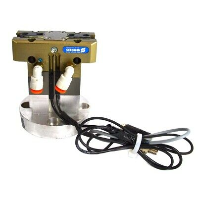 Schunk PGN50/1AS 371999 Pneumatic Robotic Parallel Gripper with Mounting Bracket
