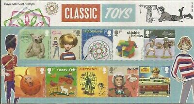 Stamps GB Pres Pack Classic Toys 2017 MNH see scan & full description below