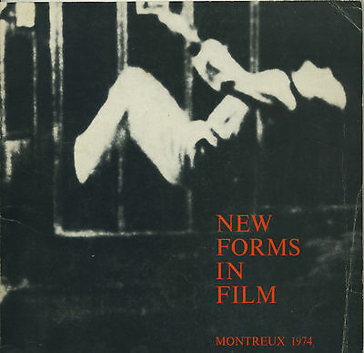 NEW FORMS IN FILM Montreux1974 rare Exhibition by Annette Michelson Catalogue
