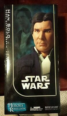 ** 2008 - Star Wars Bespin Han Solo Sideshow Collectibles - 1:6 scale MISB **