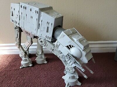 Star Wars Working 1997 Kenner Power of the Force AT-AT IMPERIAL Snow Walker