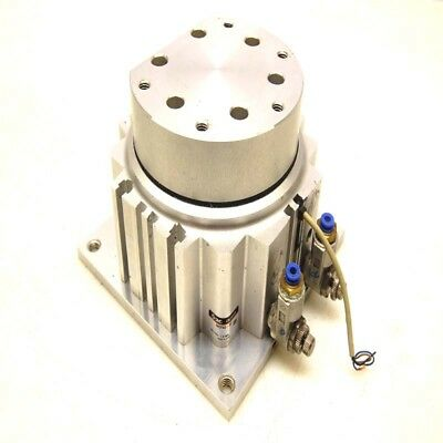 SMC Series MGF Compact Guide Cylinder MGF63-30 w/Sensor & Control Valves