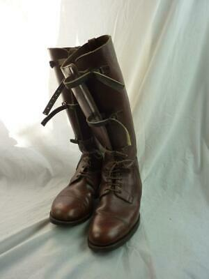 WWI British Military Army Officer's Leather Boots