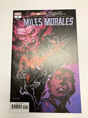 Absolute Carnage Miles Morales #1 (Of 3) Coello 1:50 Variant Vf/Nm