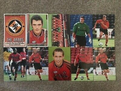 Panini Scottish Premier League Collection 98-99 Season 10 x Dundee U All Diff VG