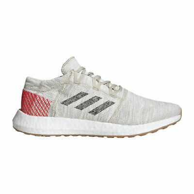 Adidas Pureboost GO B37805 Clear Brown NEW Running Shoes Boost Active Red Tan