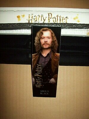 """Harry Potter Mystery Wand 12"""" SIRIUS BLACK 3D Bookmark w box Opened / New"""
