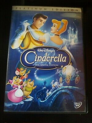 Cinderella (DVD, 2005, 2-Disc Special Edition  Platinum Collection) Guaranteed