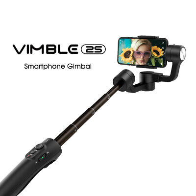 Feiyu Vimble 2 3-Axis Extendable Gimbal Stabilizer&Tripod Fit Cellphone US Stock