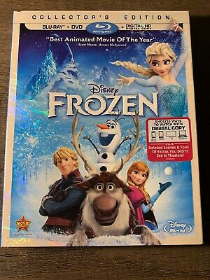 Frozen (Blu-ray/DVD, 2014, 2-Disc Set, No Digital Copy)