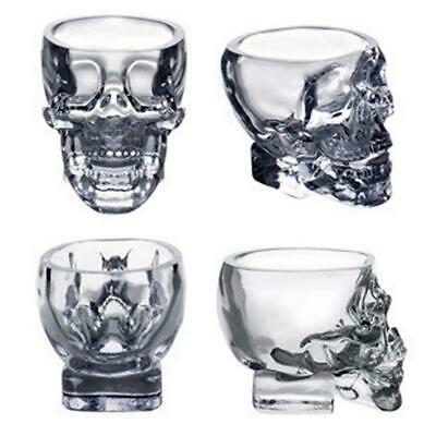 New Crystal Vodka Whiskey Skull Head Shot Glass Cup Drinking Ware Home PK