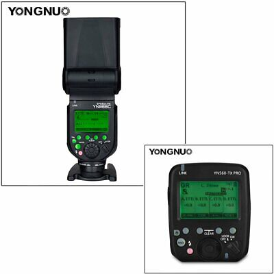YONGNUO YN560-TX PRO Wireless Flash Transmitter with YN968C Speedlite for Canon