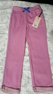 Juicy Couture Girls Pink Joggers. Size 5/6. NWT
