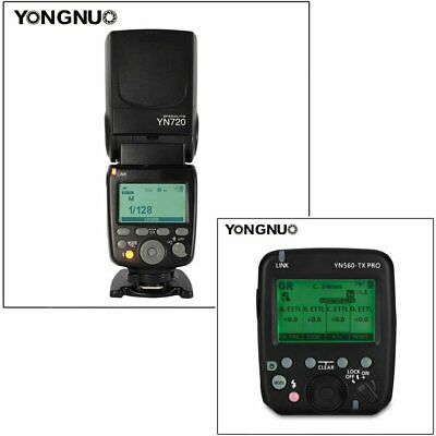 YONGNUO YN560-TX PRO Wireless Flash Transmitter with YN720 Speedlite for Canon