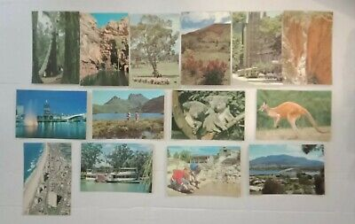 australian postcards X42 cards Australian outback sceans in quality condition