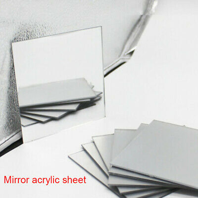 Mirror Acrylic Sheet A6 A5 A4 A3 3mm Clear Plastic Glass Safety Plate500mm
