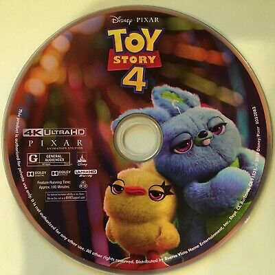 Toy Story 4 4K UHD Disc ONLY, No DVD/Blu-ray disc