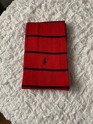Mens Red Navy Scarf Polo Ralph Lauren