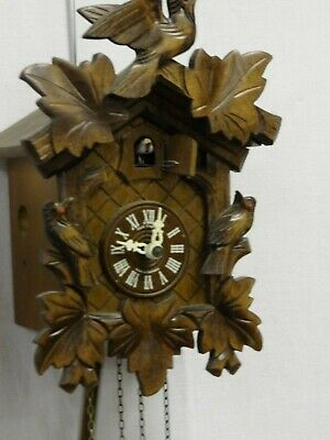 Original Dold Exquisit Black Forest Cuckoo Clock 1998  (CHA)