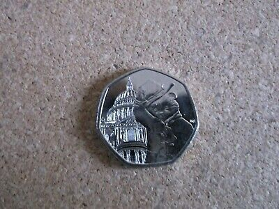 2019 PADDINGTON BEAR AT S.Paul  Cathedral 50P COIN  NEW 50p UNCIRCULATED
