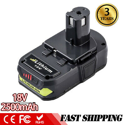 2.5Ah Replace for Ryobi 18V Lithium Battery One+ P102 P103 P105 P107 P108 P109