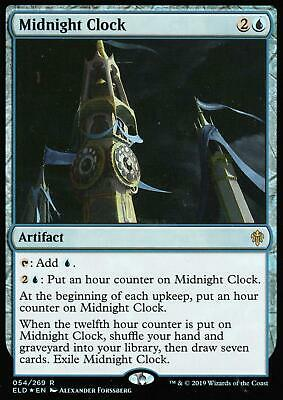 Midnight Clock FOIL | NM/M | Throne of Eldraine | Magic MTG