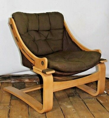 70er Freischwinger Braun,  Sessel, Lounge Chair,  Space Age mid century
