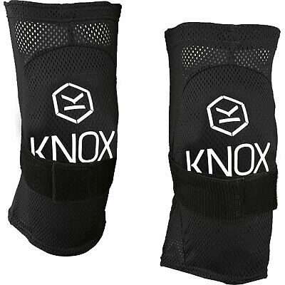 Knox Flex Lite Motorcycle Knee Guards Armour Pads Motocross MX Light GhostBikes