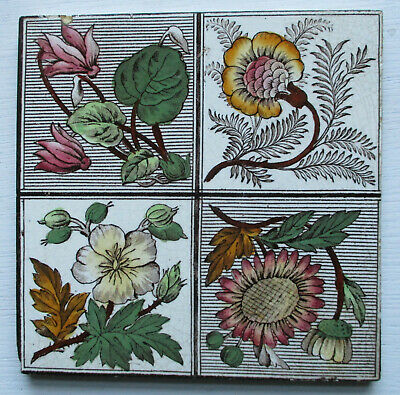 Original Aesthetic Victorian Tile By Pilkington