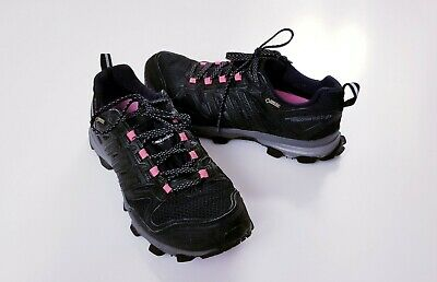 Adidas Response Trail 21 GTX Womens Sz 7.5M Black Pink Trail Running Hiking Shoe