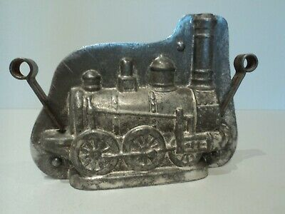 Alte Schokoladenform Damflock Zug - Antique chocolate mold Train Anton Reiche