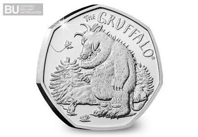 ***OUT NOW NEW Gruffalo and The Mouse 50p Coin. BRILLIANT UNCIRCULATED***