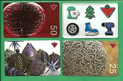 Canadian Tire Holidays Gift Cards  No Value #2