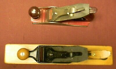 "Two Wood Planes, ""MOHAWK SHELBURNE"" and  ""WARDS MASTER"""