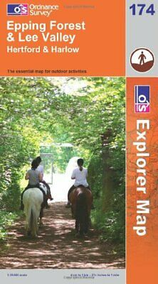 Epping Forest and Lee Valley (OS Explorer Map) by Ordnance Survey 0319240770