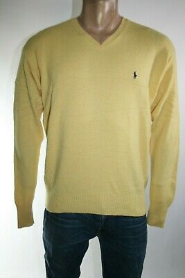 Polo By Ralph Lauren Maglione Uomo Tg. L Man Casual Vintage Sweater L208