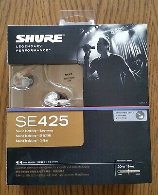 Shure SE425 CL In Ear Monitors