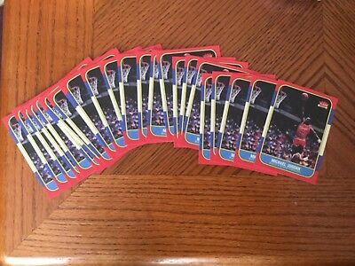 Lot of 20 Fleer Michael Jordan Chicago Bulls Basketball Rookie Cards RC Reprint