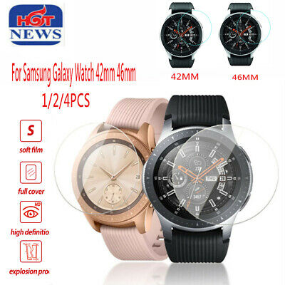 For Samsung Galaxy Watch 42/46mm Smart watch Tempered Glass Screen Protector AU