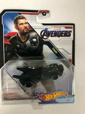 Hot Wheels 2019 Marvel Character Car Thor (End Game), In Stock **Fast Shipping**