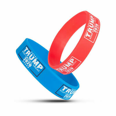 Trump 2020 President Silicone Bracelet Support Wristband - Keep America Great