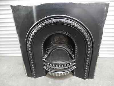 Fireplace - Cast Iron Inner Victorian Style Arched Design, 3j