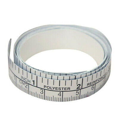 150cm Self Adhesive Measure Tape Vinyl White Ruler Sewing Machine Sticker