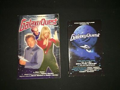 GALAXY QUEST Movie Promotional 2 BOOKS  New